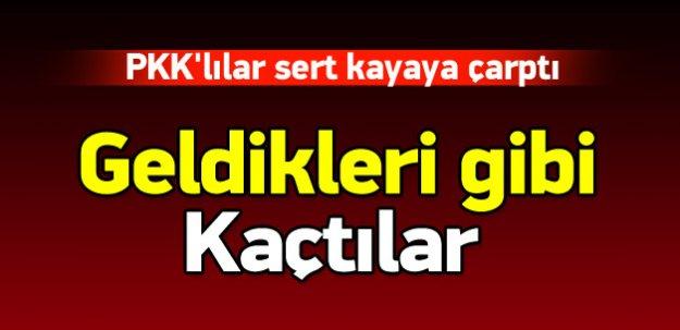 Tabura saldıran PKK'lıları JÖH püskürttü