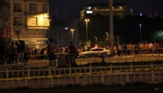 Taksim Meydanı'nda şüpheli kadın paniği