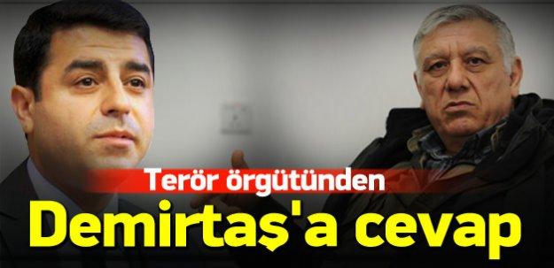 Terör örgütünden Demirtaş'ın çağrısına yanıt!