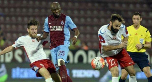 Trabzonspor Avrupa'ya veda etti!