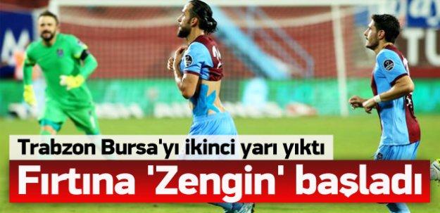Trabzonspor'dan 'Fırtına' gibi başlangıç