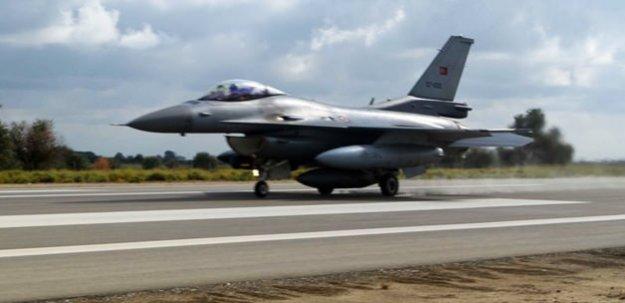 Türk jetleri PKK'ya ait 4 hedefi vurdu
