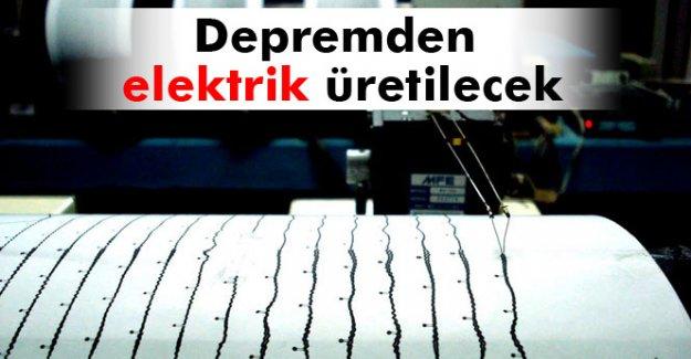 Türk profesör depremden elektrik üretecek