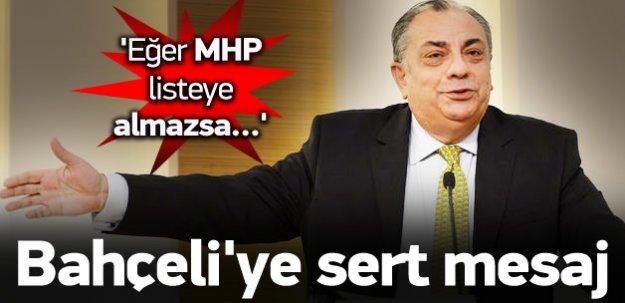 Türkeş, MHP olmazsa ne yapacağını açıkladı