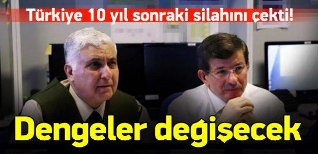 Türkiye 10 yıl sonraki silahını çekti!