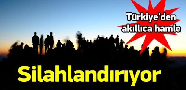 Türkiye Şam Cephesi'ni silahlandırıyor