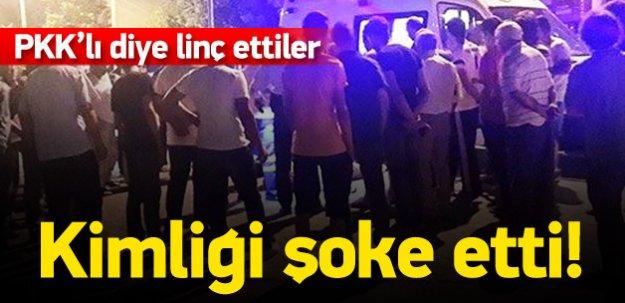 Üsteğmen'i PKK'lı diye linç ettiler!