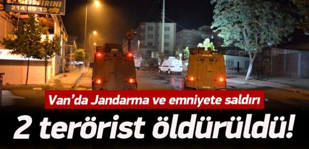 Van'da çatışma: 2 terörist öldürüldü