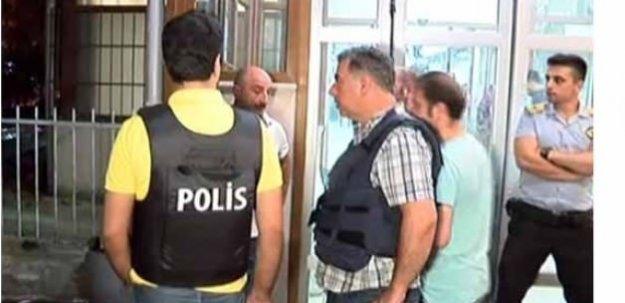 Yaralı polislerin kaldırıldığı hastanede alarm