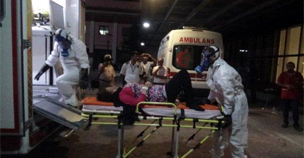 Yaralı Suriyelilerde kimyasal şüphesi hastaneyi kilitledi!