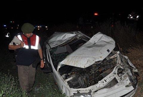 Yozgat'ta trafik kazası: 4 ölü, 2 yaralı