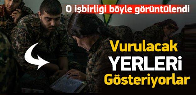 YPG ile ABD arasındaki işbirliği görüntülendi