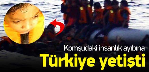 Yunan askerinden insanlığı utandıran hareket!