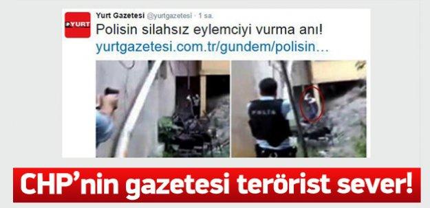 Yurt gazetesinden skandal paylaşım
