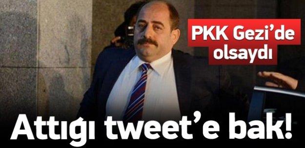 Zekeriya Öz'den skandal PKK Tweet'i