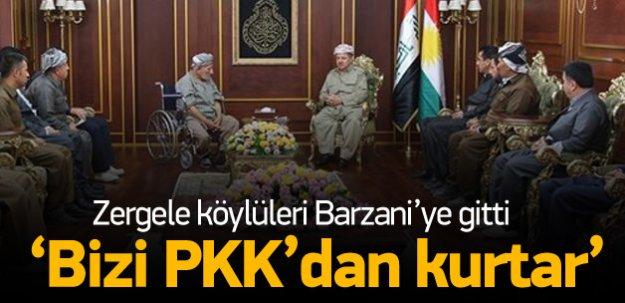 Zergeliler, PKK'ya karşı Barzani'den yardım istedi
