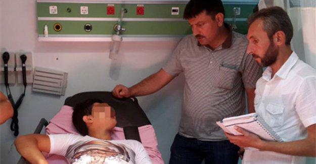14 yaşındaki çocuğu bıçakladılar!