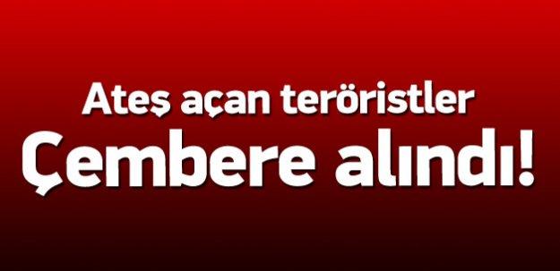 15 kişilik terörist grup çembere alındı