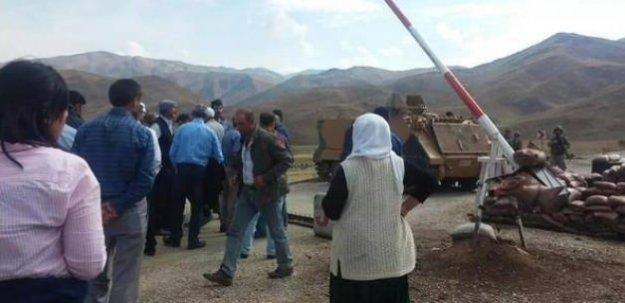 200 kişilik heyet Dağlıca'ya gitti