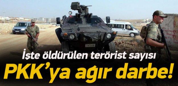 66 günde bin 123 terörist öldürüldü