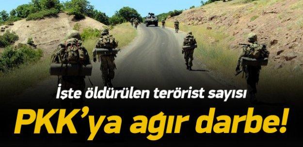 76 günde 1288 terörist öldürüldü
