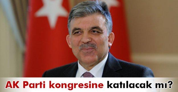 Abdullah Gül AK Parti kongresine katılacak mı?