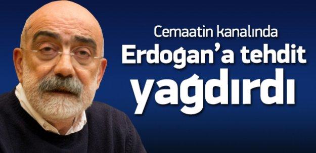 Ahmet Altan'dan canlı yayında Erdoğan tehdidi