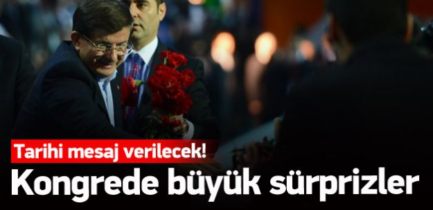 AK Parti konmgresinde büyük sürprizler