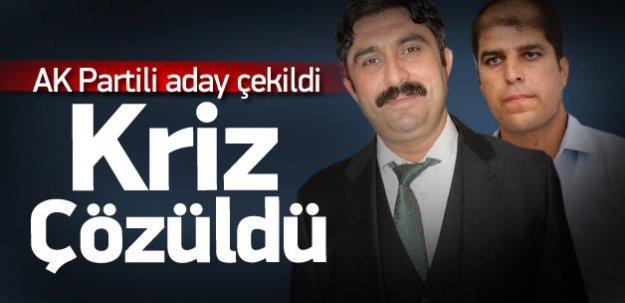 AK Parti'nin 'Memiş' krizi çözüldü