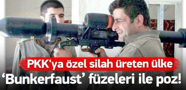 Almanya'dan PKK'ya özel üretim!