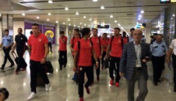 Atletico Madrid İstanbul'a geldi