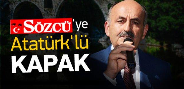 Bakan'dan Sözcü'ye Atatürk'lü 'kapak'