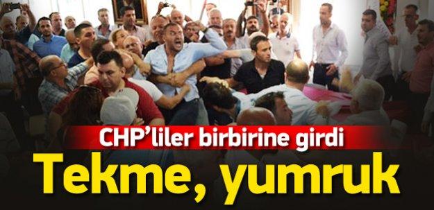 CHP'de atama krizi kavgayla sonuçlandı