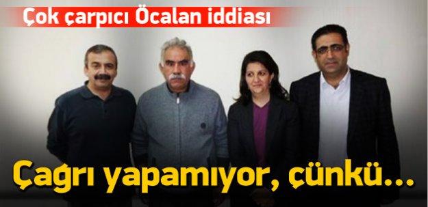 Çok çarpıcı Öcalan iddiasıı! Gücünü kaptırdı mı?