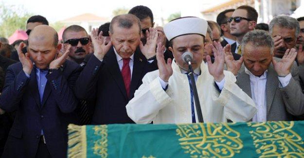 Cumhurbaşkanı, iş adamı İbrahim Cevahir'in cenaze törenine katıldı