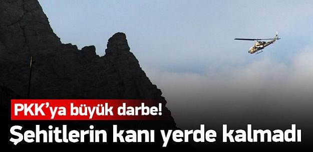 Dağlıca'da 73 PKK'lı öldürüldü 25'i sağ yakalandı