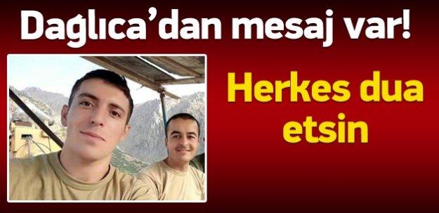 Dağlıca'daki askerler dua bekliyor