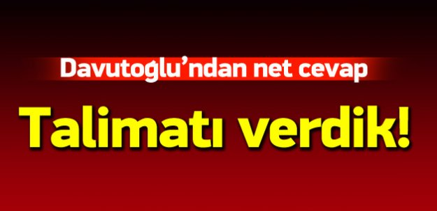 Davutoğlu: HDP düzene uymak zorundadır