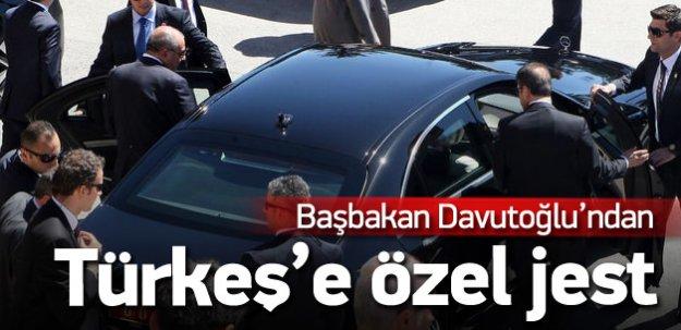 Davutoğlu'ndan Türkeş'e bir jest daha