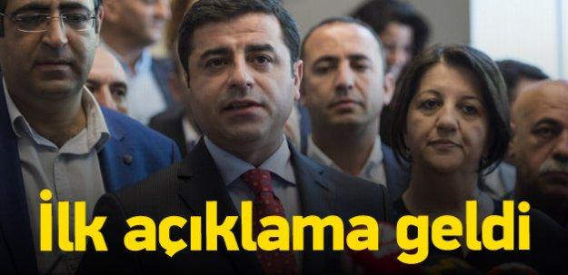 Demirtaş'tan Dağlıca açıklaması