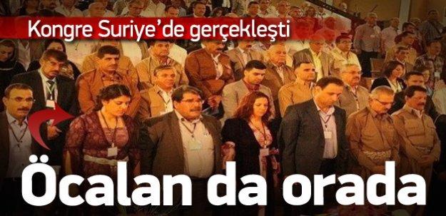 Dilek Öcalan ve HDP'li vekiller PYD Kongresi'nde