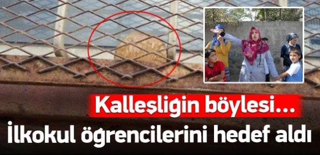 Diyarbakır'da ilkokula bombalı tuzak!