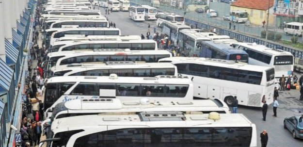 Diyarbakır'da otobüs seferleri iptal edildi