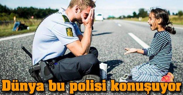 Dünya bu polisi konuşuyor