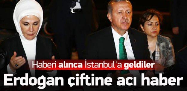 Erdoğan çiftinin acı günü!