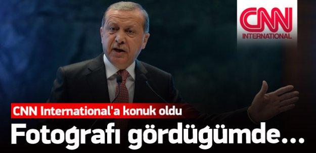 Erdoğan CNN International'a konuk oldu