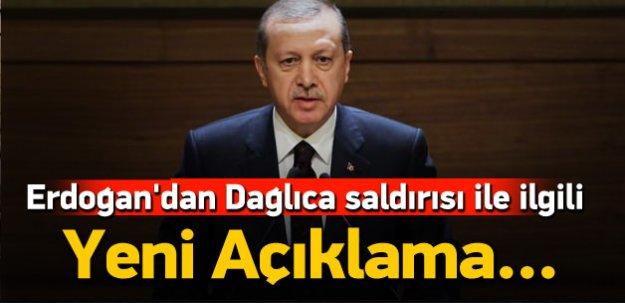 Erdoğan'dan Dağlıca ilgili yeni açıklama!