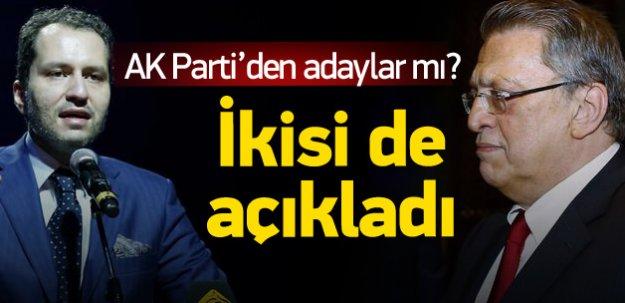 Fatih Erbakan AK Parti'den aday mı?