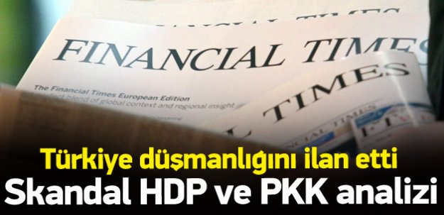 Financial Times'dan skandal yazı