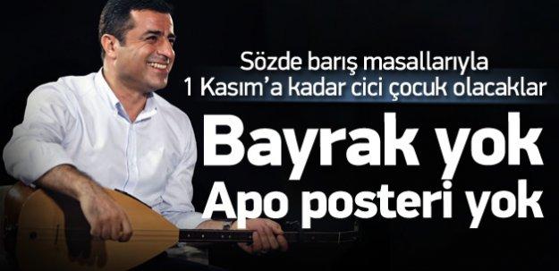 HDP Batı'da parti bayrağı kullanmayacak